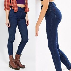 Urban Outfitters BDG seamed high rise skinny jeans